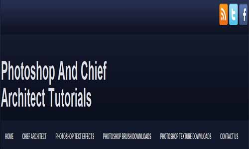 Photoshop And Chief Architect Tutorials