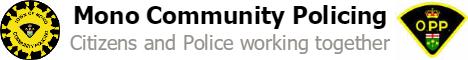 Mono Community Policing