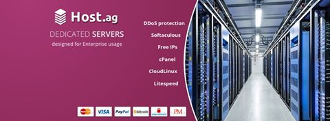 Host.AG - European Dedicated Servers