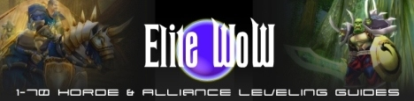 Elite WoW 1-70 Horde and Alliance World of Warcraft Leveling Guides