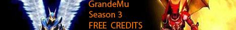 GrandeMu season 3 FREE CREDITS