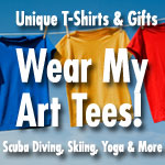 Wear My Art Tees!