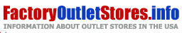 Outlet stores in United States