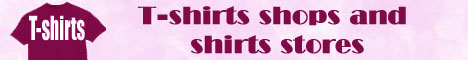 T-shirts shops and shirts stores