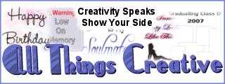 All Things Creative - Creativity Speaks