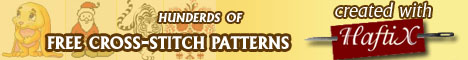 Free counted cross-stitch patterns