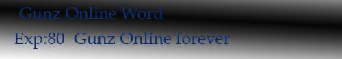 Gunz Online Word