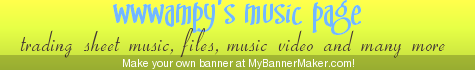 wwwampy's music page - all about music