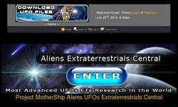 Screenshot of Download UFO Files