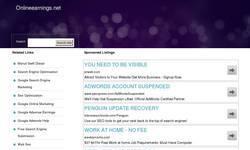 Screenshot of OnlineEarnings Article Board
