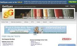Screenshot of free articles directory