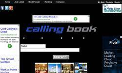 Screenshot of callingbook.com