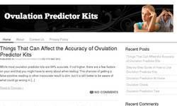 Screenshot of http://ovulationpredictorkits.org