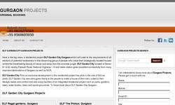 Screenshot of Gurgaon Projects