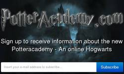 Screenshot of Potteracademy