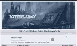 Screenshot of Potter's Army