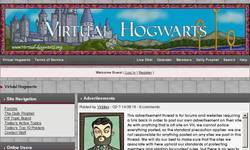 Screenshot of Virtual Hogwarts