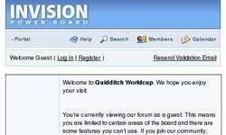 Screenshot of Quidditch World Cup