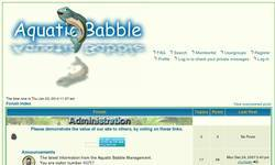 Screenshot of Aquatic Babble