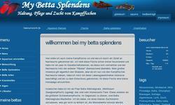 Screenshot of My Betta Splendens