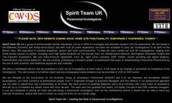 Screenshot of Spirit Team UK - Paranormal Investigators