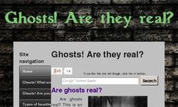 Screenshot of Ghosts! Are they real?