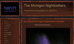 Screenshot of MINSPI Paranormal Investigations