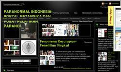 Screenshot of Asian - Indonesian Paranormal Info