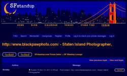 Screenshot of http://www.blackpawphoto.com/ - Professional Staten Island Wedding Photographers