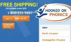 Screenshot of Hooked on Phonics
