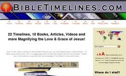 Screenshot of Bible Timelines Online