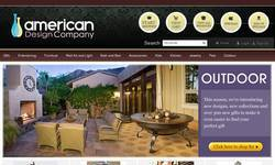Screenshot of american design company
