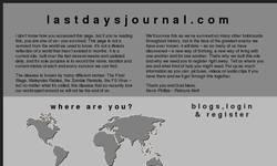 Screenshot of lastdaysjournal.com