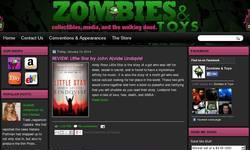 Screenshot of Zombies and Toys