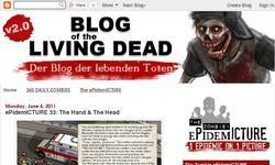 Screenshot of Blog of the Living Dead