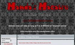 Screenshot of Manda's Macabre - Endless Vintage