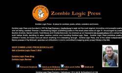 Screenshot of Zombie Logic Press