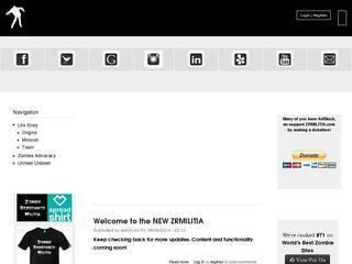 Screenshot of Zombie Resistance Militia