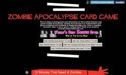 Screenshot of ZOMBIE APOCALYPSE CARD GAME