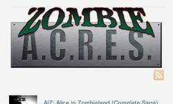 Screenshot of ZombieACRES.com