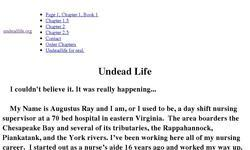Screenshot of undeadlife.org