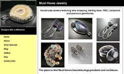 Screenshot of Must-Haves Designs
