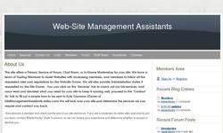 Screenshot of Sitemanagementassistance