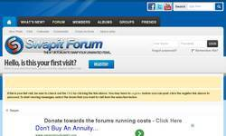 Screenshot of The BEST SwapitShop Forum - SwapitShopForum.Net