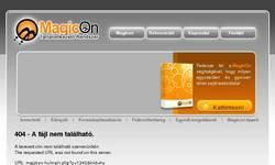 Screenshot of www.magicon.hu