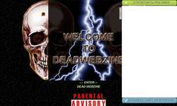 Screenshot of Deadwebzine - Extreme Metal Guide And Metal Web Promotions