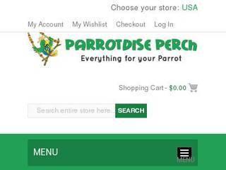 Screenshot of Parrotdise Perch