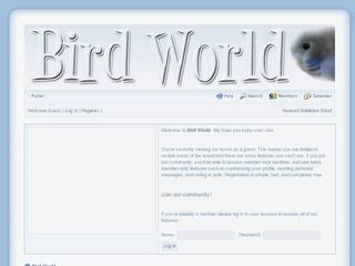 Screenshot of Bird World