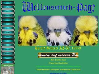 Screenshot of Wellensittich-Page