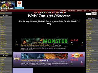 World of Warcraft Sites and Servers - Page 1 - Top Site List